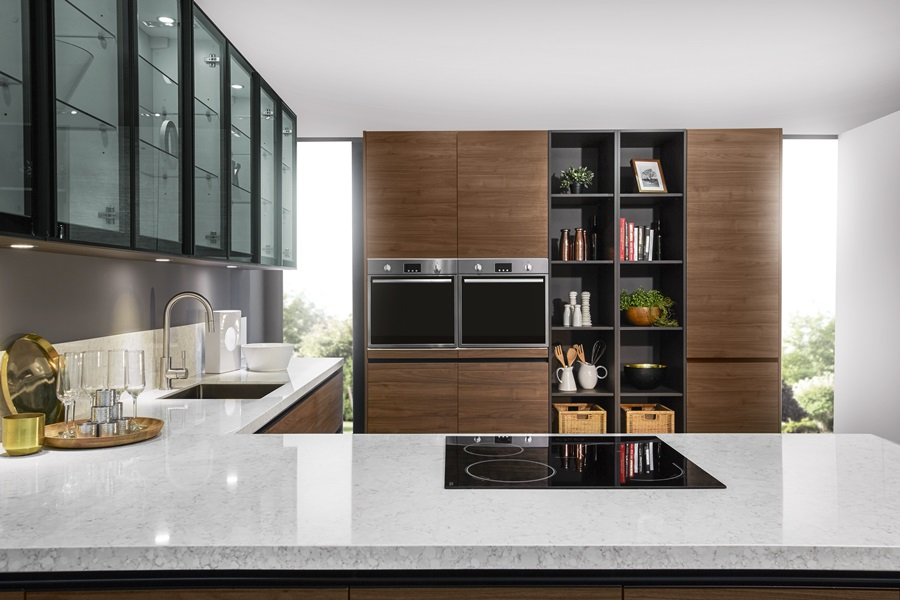 Ruang Rekaan Dapur Moden Glam Malaysia