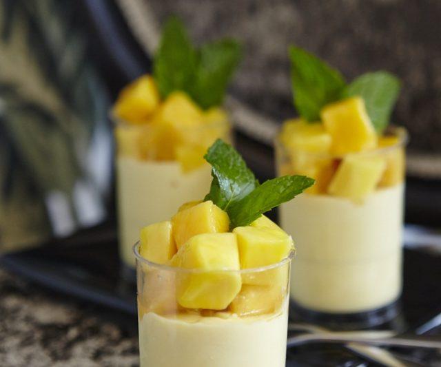 Resipi Hujung Minggu – Mango Mousse