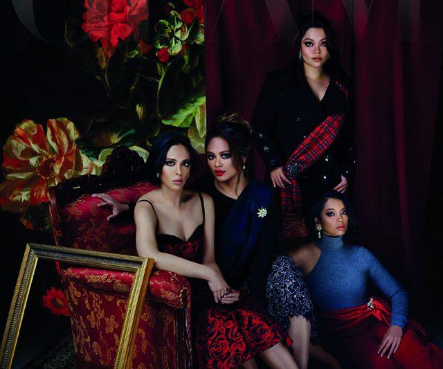 Beautiful Inside Out: YM Datuk  Tunku Kaiyisah, YM Puteri  Amida Afsha Afzan, YM Puteri Munawarah Syammiyah, YM Puteri  Afzan Shakira Nabila