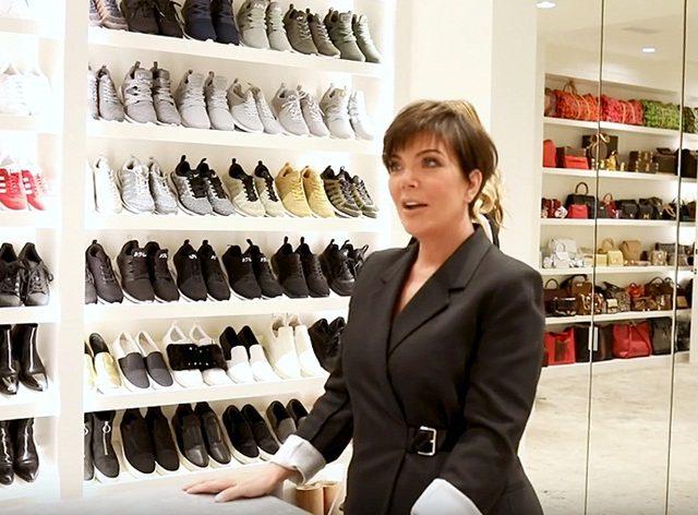 Inspirasi Wardrobe Kris Jenner Sebesar Apartmen