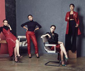 The Women About Town: Cristina Suzanne, Nadia Aqilah, Ruzana Ibrahim dan Sharifah Amani