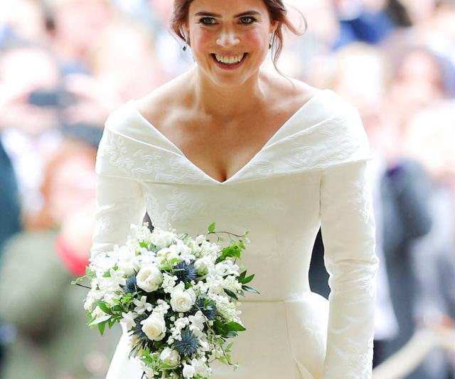 Seri Puteri Eugenie Dengan Dress Perkahwinan Istimewa Membawa Makna