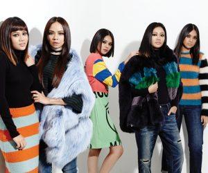 The Women About Town: Putri Azalea, Putri Yasmin, Nora Danish, Alia Alizar dan Faralisa Adril