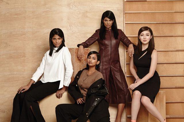 The Women About Town: Thanuja Ananthan, Anuja Ananthan, Carey Ng, dan Manisha Jagan