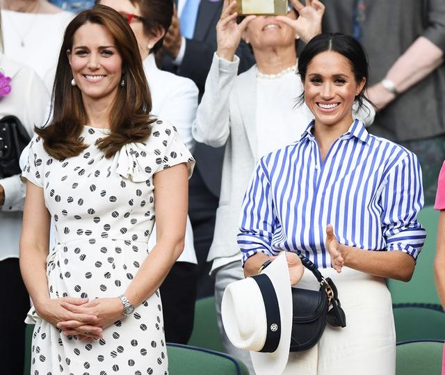 Royal Drama Antara Meghan Markle & Kate Middleton?