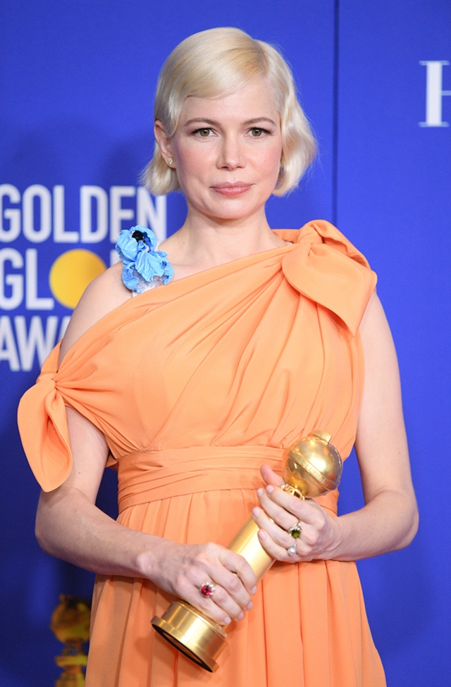 Michelle Williams di Anugerah Golden Globes 2020