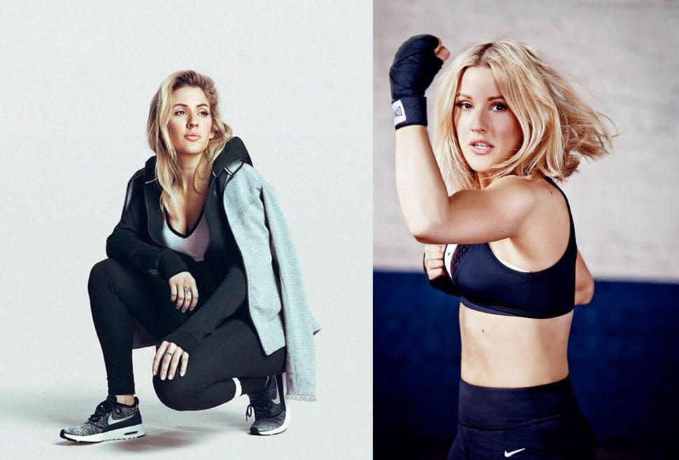 Ellie peminat sukan kecergasan dan mengamalkan gaya hidup sihat