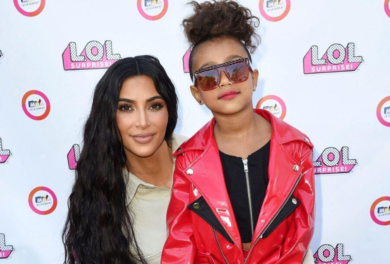 Kim Kardashian Berang Hasil Karya Seni North Diragui