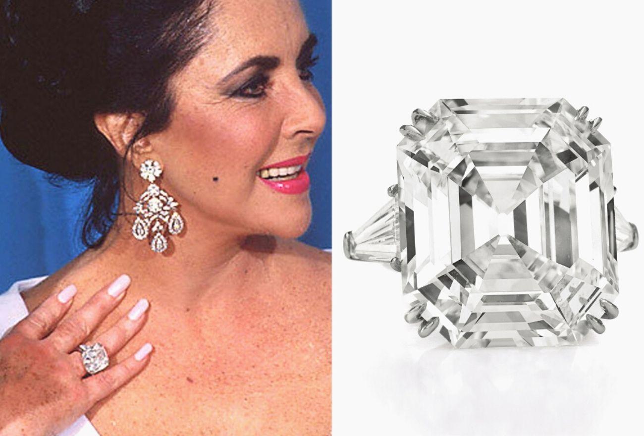 Kebenaran Mengenai Cincin Berlian Elizabeth Taylor
