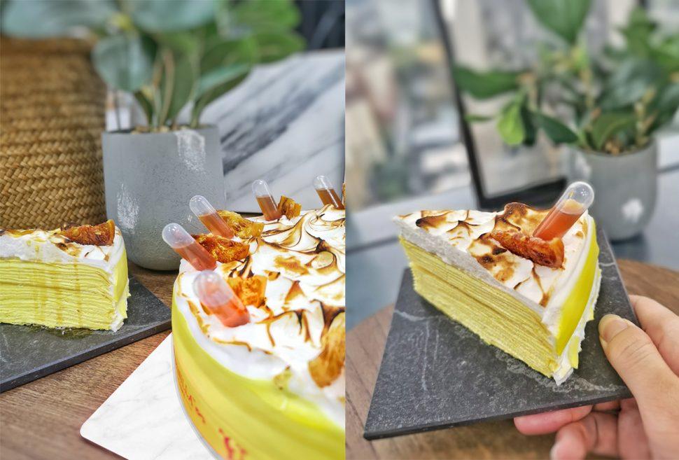 Vanilla Crepe memberikan sensasi terbaik dengan kesempurnaan yang luar biasa