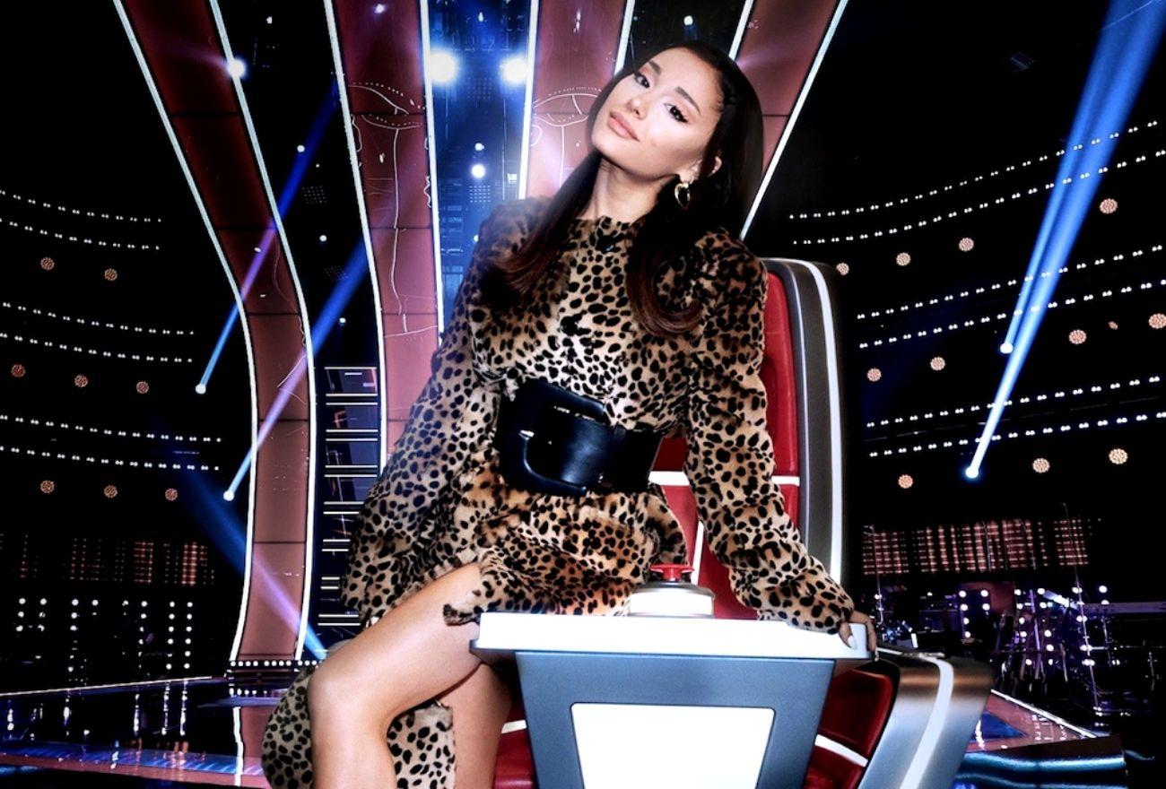 Ariana Grande Sertai Barisan Juri The Voice