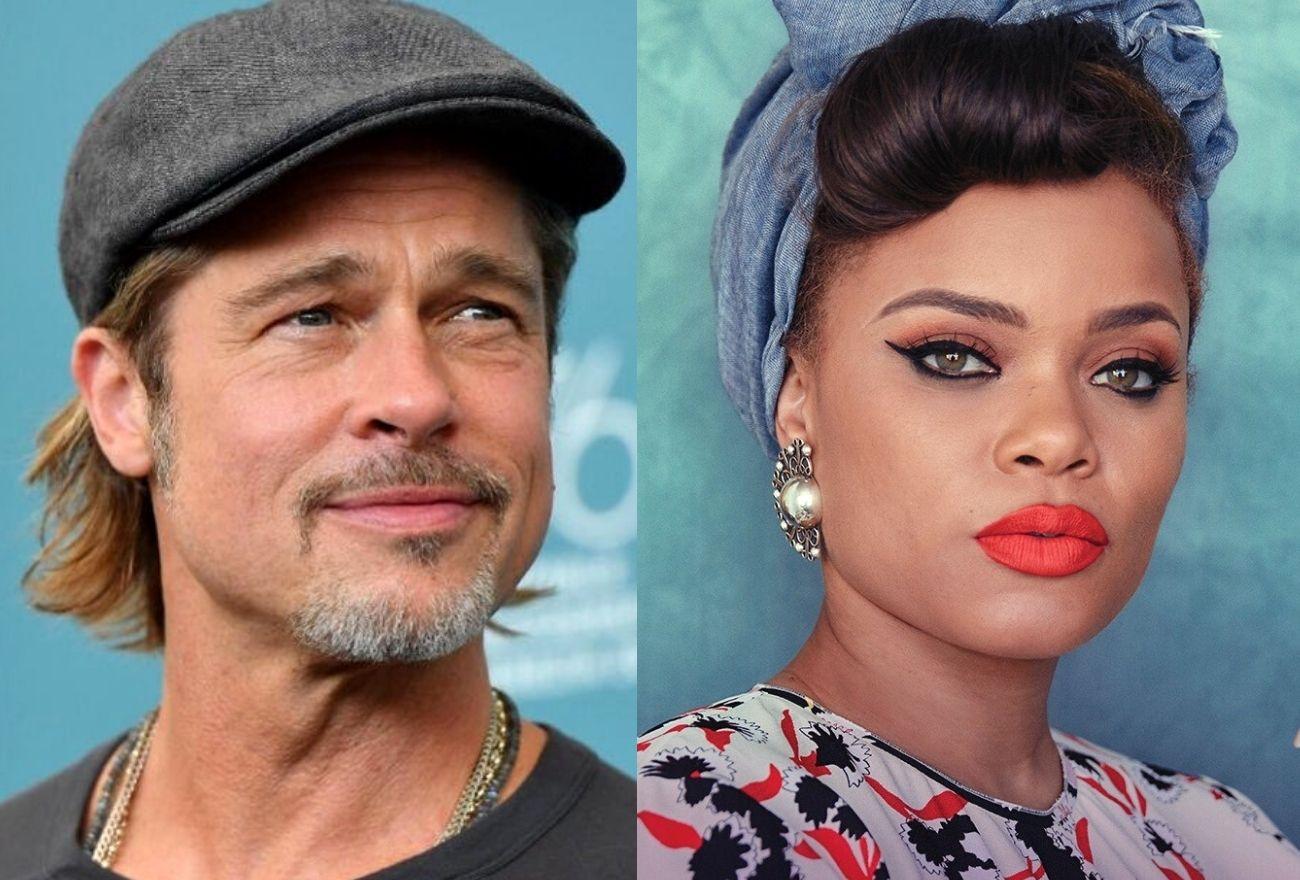 Benarkah Brad Pitt & Andra Day Sedang Hangat Bercinta?