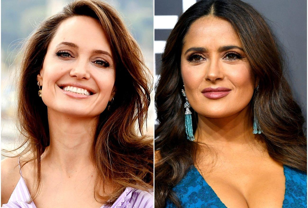 Angelina Jolie Rai Ulang Tahun Salma Hayek Mengikut Tradisi Unik Mexico