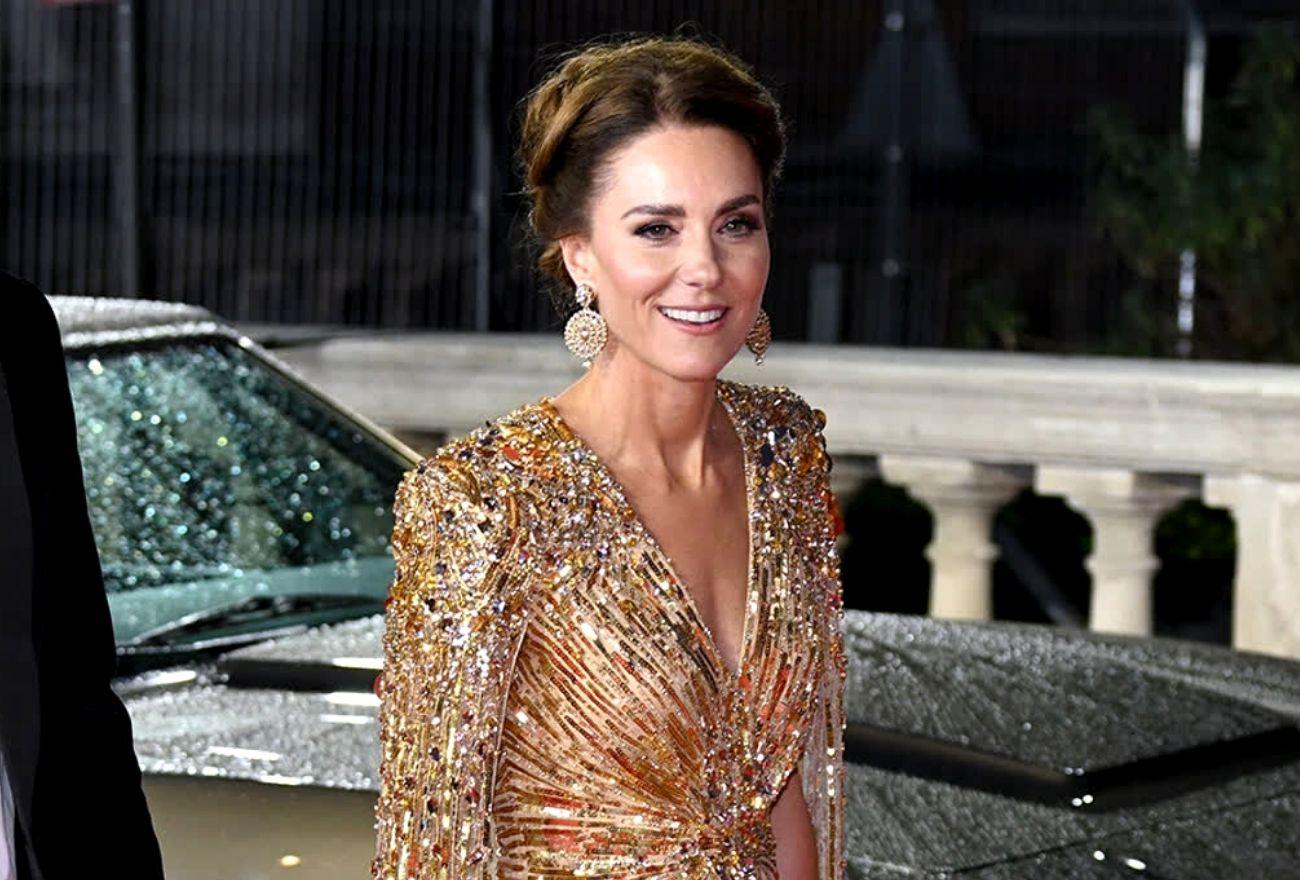 Gaun Kate Middleton Menghidupkan Momen Karpet Merah Puteri Diana Di Tayangan James Bond 1985