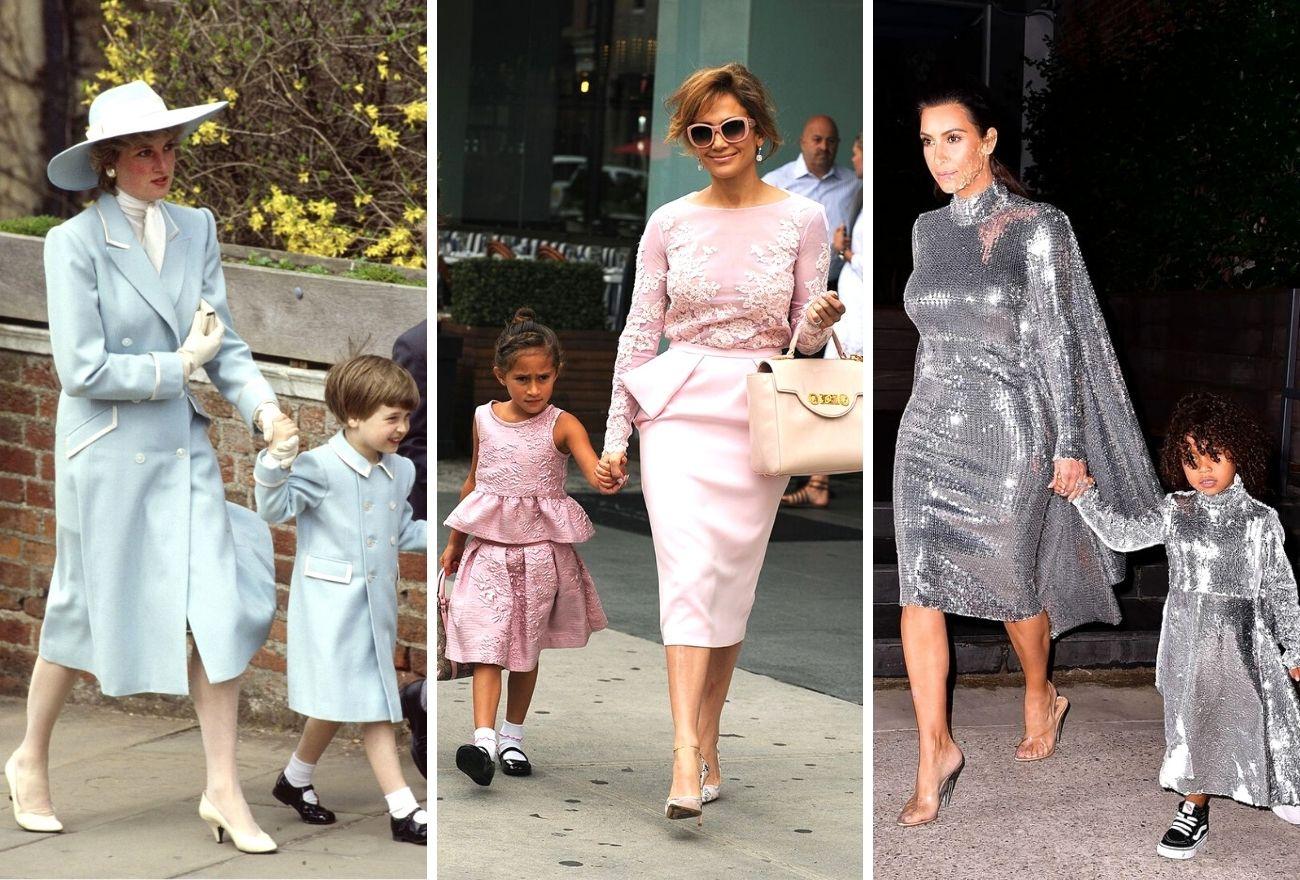 Fesyen Sedondon Ibu-Anak Yang Mencuri Perhatian Dunia